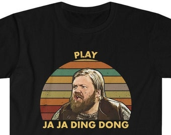 Euro vision Ja Ja Ding Dong Song Fire Saga Contest Tshirt Tee shirt Short-Sleeve Unisex T-Shirt