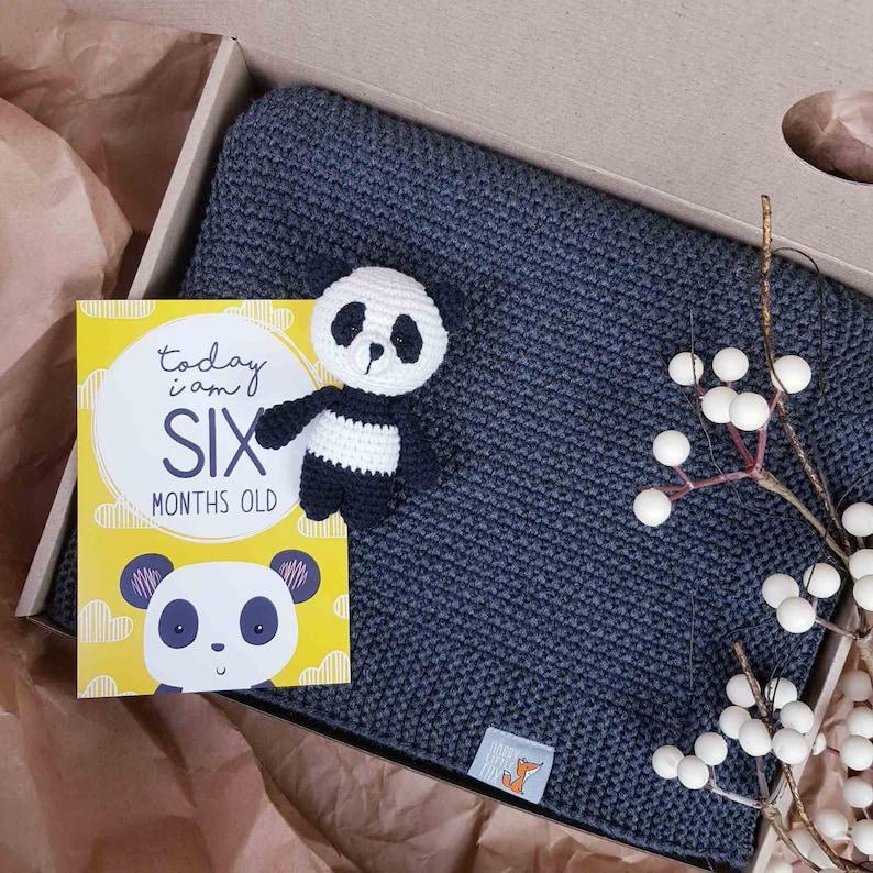 1 Jahr alte Geschenk-Korb-Box Willkommen Baby-Geschenk-Set