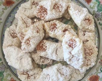 1 Dozen Kolachie or Roshkie Cookies