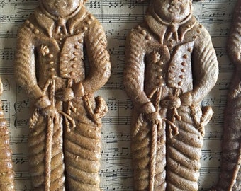 """6 7"""" Hussar Gingerbread Speculaas Father's Day Dad"""