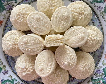 1 Dozen Traditional Theme Anise or Assorted flavor Soft German Springerle Cookies Southern Tea Cake Father's Day Favors 1 Dozen