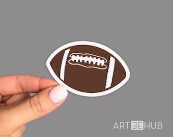 Football Ball Sticker, Football Sticker, Ball Sticker, Sport Sticker, Sport Decal, Game Sticker, Team Player Sticker,Football Laptop Sticker