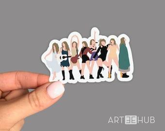 Taylor Swift Sticker, Taylor Alison Swift Sticker, American Singer Sticker, Singer Sticker, Songwriter Sticker, American Celebrity Sticker
