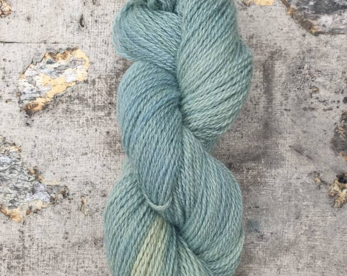 Inversion2 - naturally dyed regeneratively farmed British wool