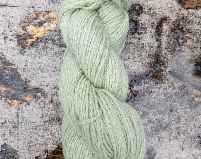 My soul is light - naturally dyed regeneratively farmed British wool