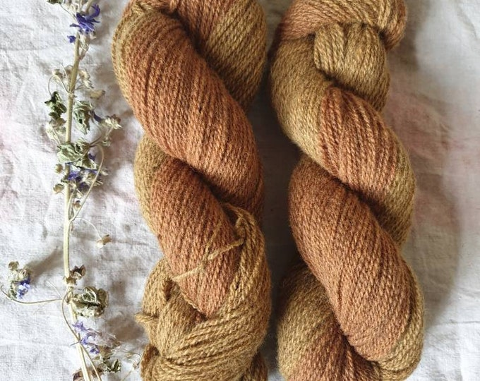 Mixed Sands - naturally dyed regeneratively farmed British wool