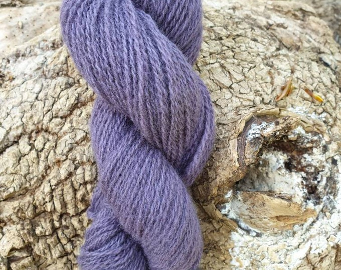 Logwood - naturally dyed regeneratively farmed British wool
