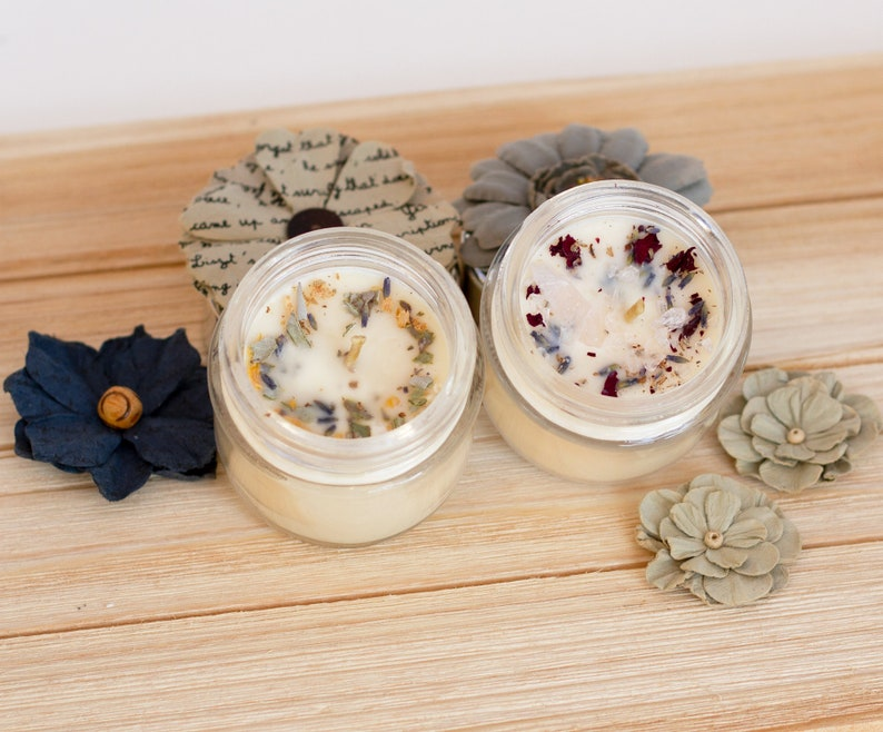 Love Spell and Crystal Infused Candle with Spiritual Sage Candle - Crystals  Activated Candle for Special Love Rituals