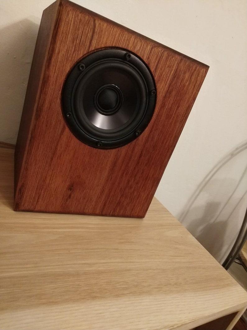 Audiophile exotic bookshelf speaker SEAS coaxial hifi
