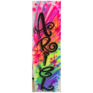 Airbrushed Sweatpants Youth  Adult Airbrush Graffiti 90s Sweat Pants Bubble Letter Custom Personalized Any Name /& Colors