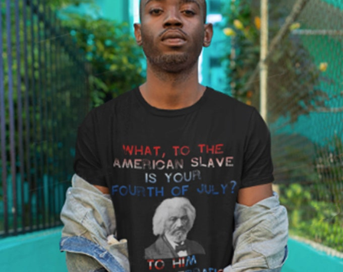 Unisex Slave 4th of July t-shirt, American Independence Day holiday tee, Hebrew Israelite Gift, African American gift