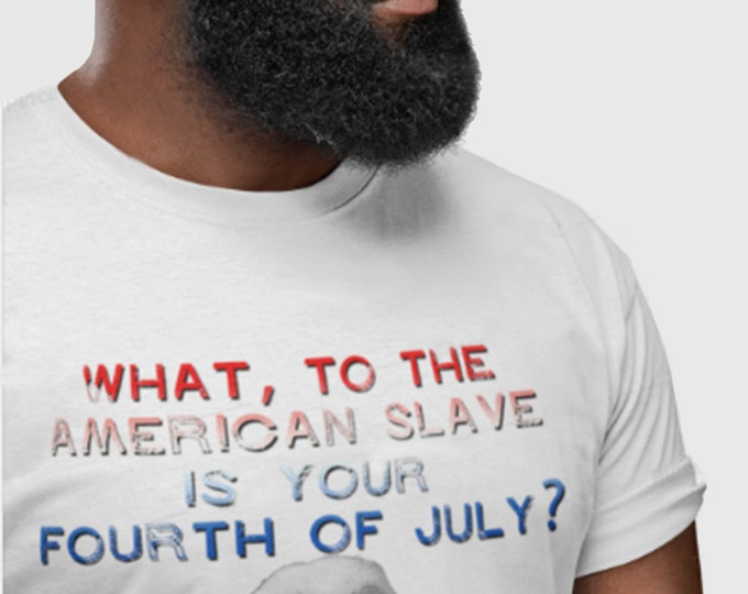 Unisex Slave 4th of July t-shirt, American Independence Day shirt, Hebrew Israelite Gift, African American gift