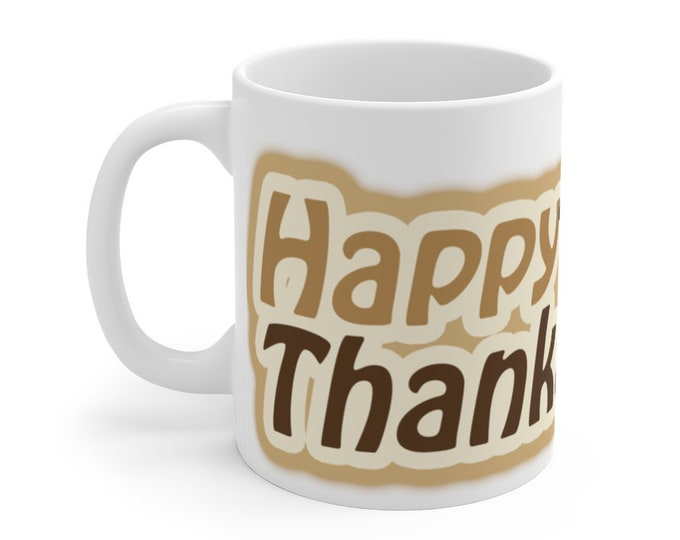 Happy Thankstaking Mug 11oz, American Thanksgiving Holiday, No Thanks For Taking, Native American Trail of Tears