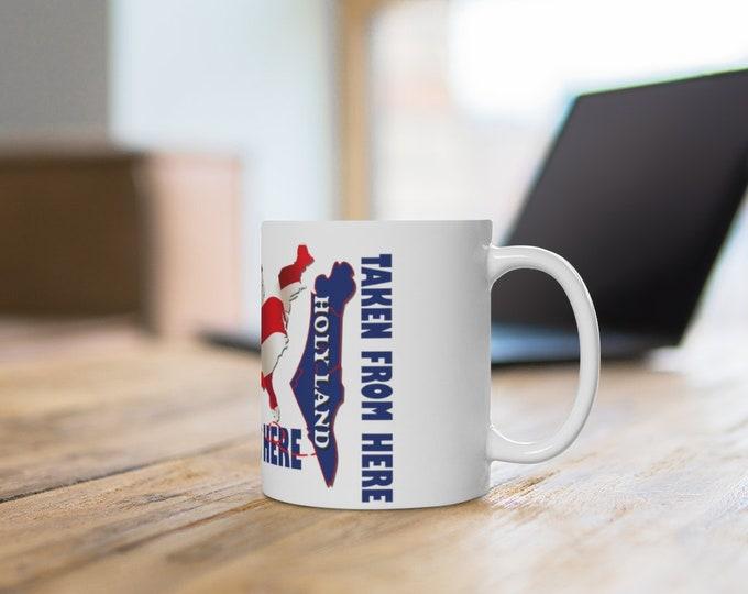 Taken And Enslaved Mug 11oz, Truther Gift Mug, Taken From Israel To America Mug, Hebrew Israelites Gift