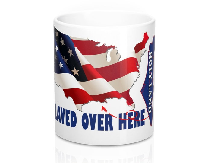 Taken And Enslaved 11oz Mug, Truther Gift Mug, America Mug, Jew Mug, Israel Mug, Hebrew Israelites Gift, Unique Gift, African American gift