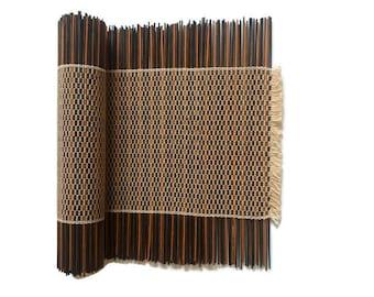 Bambus Tischlaufer Etsy
