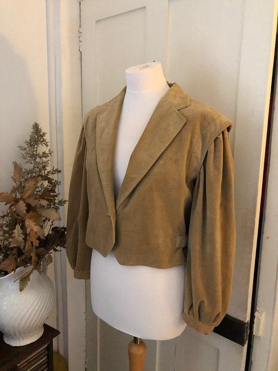 Mary Quant Vintage ladies waisted jacket.