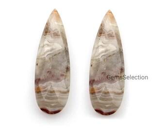 RUBY RED Quartz Faceted Elongated Pear Shape Briolettes,25mm Long Size,Superb Item 3 Pieces Set