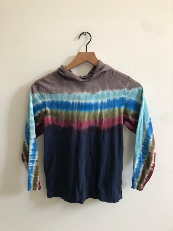 Vintage lands end Tie dye sweater - image 1