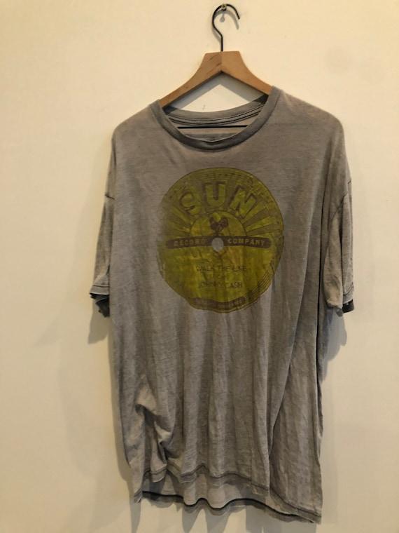 Vintage sun records Jonny cash shirt