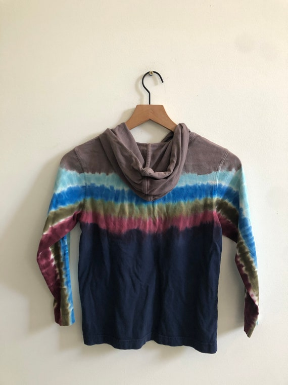 Vintage lands end Tie dye sweater - image 3