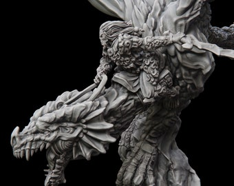 Pathfinder Undead Dwarves Mordheim Frostgrave Epics N Stuff Dark Fantasy DnD Dungeons and Dragons 5 poses RESIN