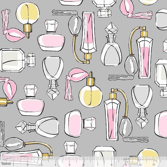 Glamorama Fabric BL55 by Maude Asbury Essentials on white background