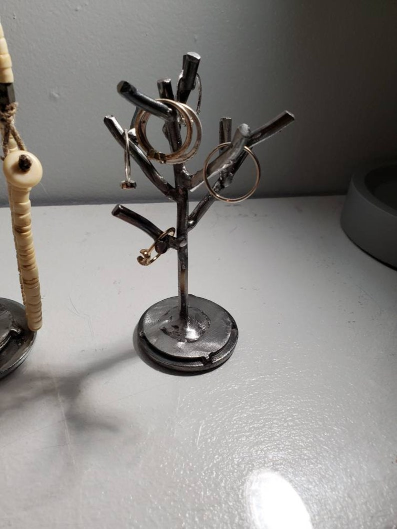 Small Metal Ring Tree