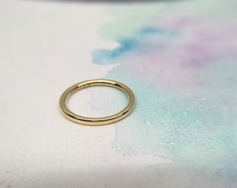 29ed67fa5 Excellent Authentic Tiffany & Co. Bezet 18K Yellow Gold Ring Size 4.5