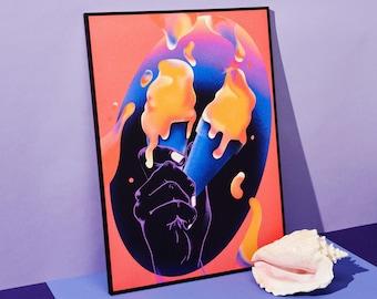 Honey Dijon Creator Collab • limited edition art print • TOGETHER •