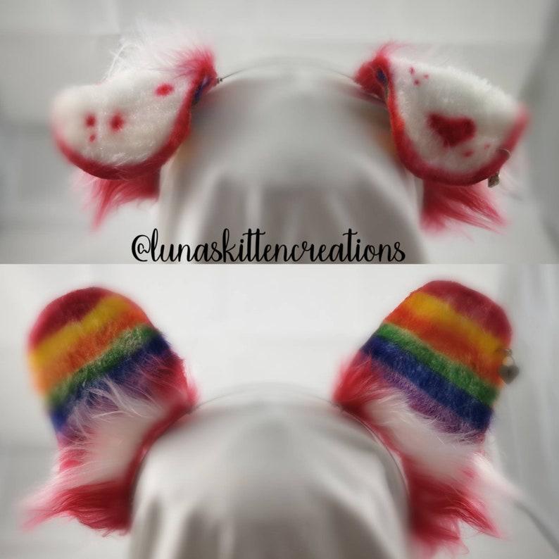 Dalmatian Dog Puppy Floppy Ears On An Alice Hair Band Headband Fancy Dress
