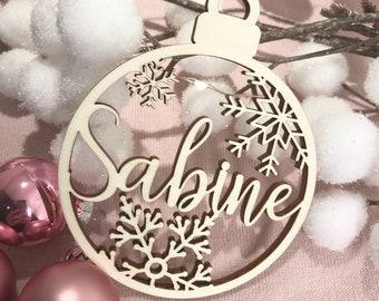 Geschenkanh/änger mit Spruch Weihnachtsdekoration Baumschmuck Weihnachtsdekoration 5er Set Holzanh/änger Christbaumschmuck
