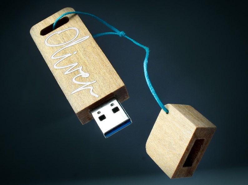 Personalized engraved wooden USB Flash Drive Custom USB 16GB32GB