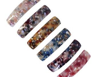 2x Women Slide Hair Clip Barrette Grip Hairpin Crystal Hair Pins Accessories