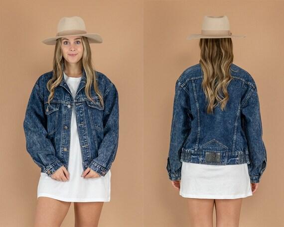 90's Acid Wash Denim Jacket