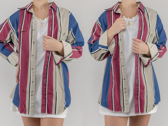 Vintage Wranger Striped Shirt