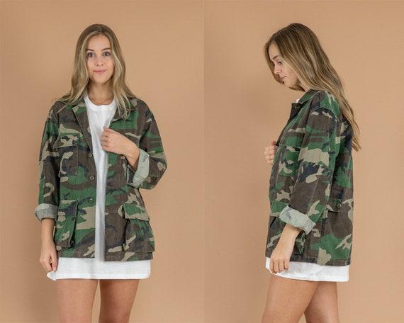 Vintage Military/Camo Jacket
