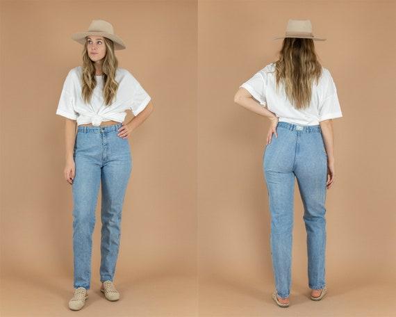 80's Light Wash Mom Jeans