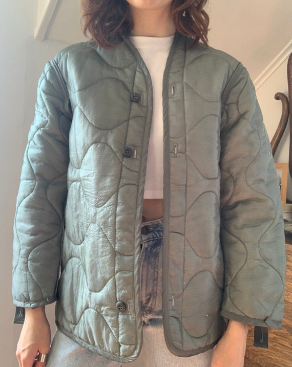 Vintage Replica US Army Military Liner Jacket / Si