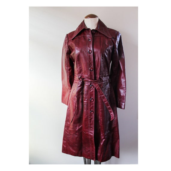 Vintage Leather Trench | Dorby Casuals Vintage Lea