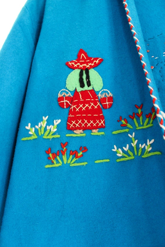 1940s Hand Stitched Mexican Jacket | 100% Wool | … - image 5