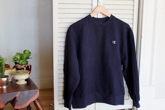 Champion Sweatshirt | Vintage Sweatshirt | Navy |