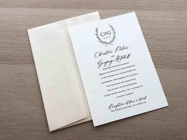 Vintage Invitation Sample Paper