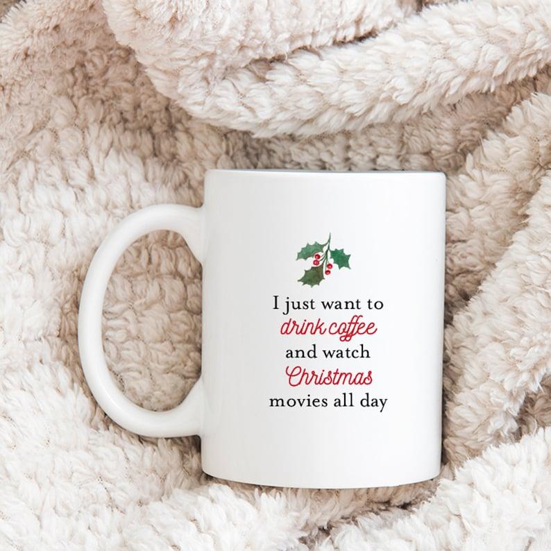 11 oz Christmas Mug 3 designs christmas movies