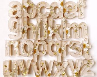 Floral Lowercase Alphabet Set
