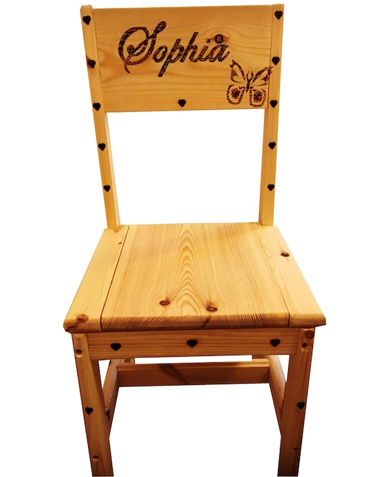 Phenomenal Childrens Desk Chair With Without Personalisation Gmtry Best Dining Table And Chair Ideas Images Gmtryco