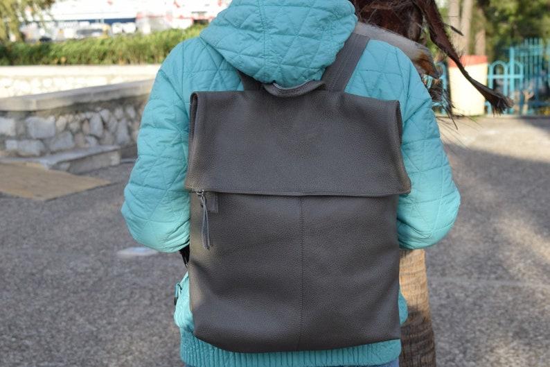 Unisex backpack Mens Backpack,Black Large backpack Extra Large backpack,Leather Backpack,Handmade backpack,Leather bag,Leather rucksuck
