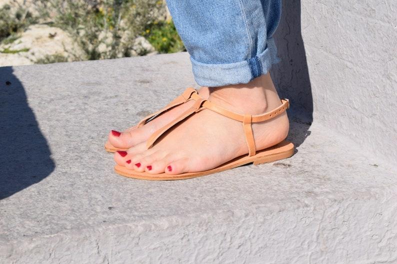 Greek leather sandals,leather flat sandals,womens sandals,t-strap sandals,leather flats,grecian sandals,handmade sandals,summer shoes