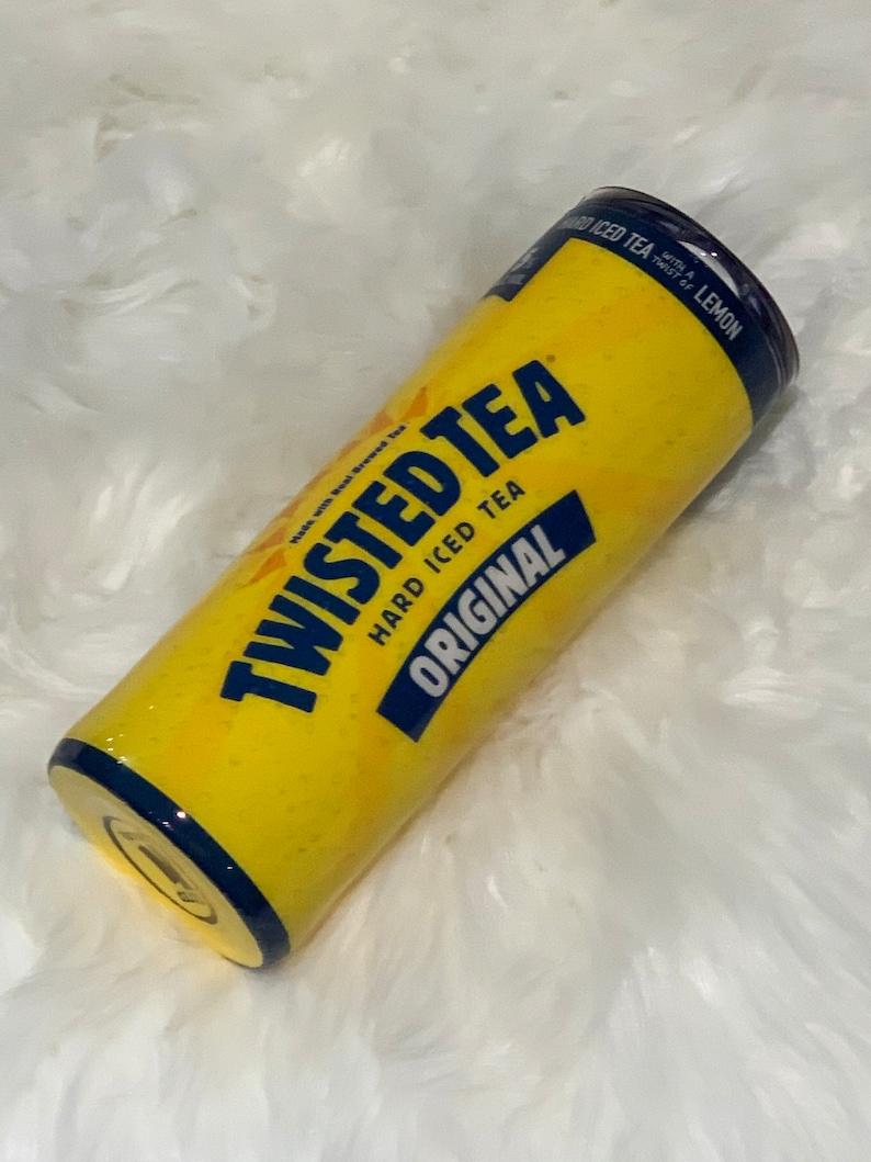 Twisted Tea Alcohol Tumbler Coffee Custom Cup 20oz