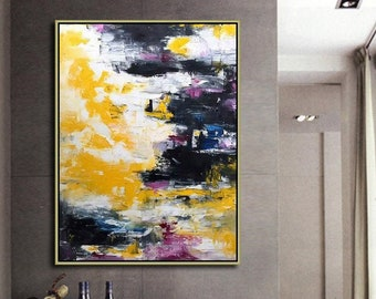 Hand painted canvas art, Abstract painting, Original painting, Wall Art painting, Home decor painting, Custom oil painting, Abstract art